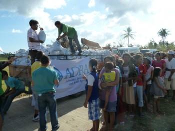 ADRA distribuye alimentos
