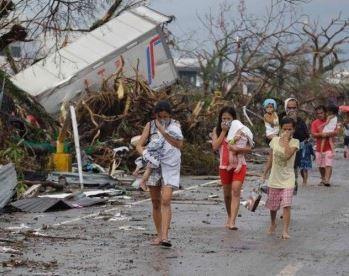 El Tifón Haiyan