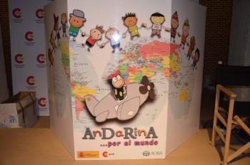 ¡Por fin AnDaRinA llegó a Madrid con las niñas del mundo!