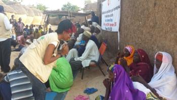 Prevención del Ébola en las Comunidades de Bangui y Sabon Guida, Niger