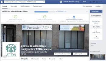 Facebook para los Centros de Atención a Inmigrantes