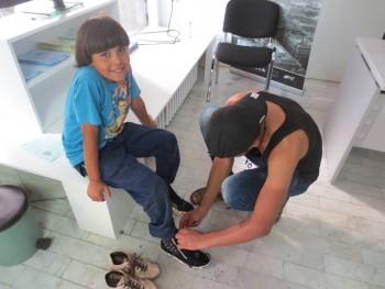 historia de vida: zapatos de esperanza