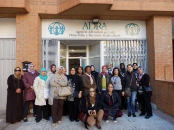 Apoyo y acompañamiento en autoempleo para la integración laboral de mujeres inmigrantes CIS ADRA en Zaragoza