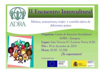 II Encuentro Intercultural.