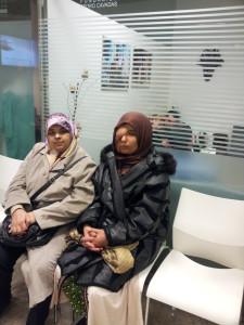 Samira Benhar en la clínica del Dr Pedro Cavadas en Valencia, enero 2013