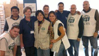 El gran equipo de ADRA en Barcelona