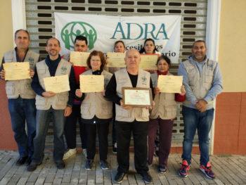 Reconocimiento del Ayuntamiento de Aspe a nuestros voluntarios
