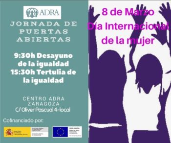 El 8 de marzo en el Centro de Zaragoza