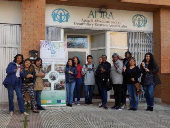 Día 8 de Marzo en el Centro de ADRA en Zaragoza