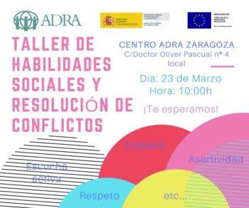 Taller de Habilidades Sociales y Resolución de Conflictos