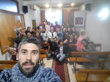Taller sobre cuidados de personas mayores en la delegación de Algeciras
