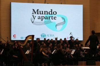 """Concierto """"Mundo y aparte"""" en Madrid."""
